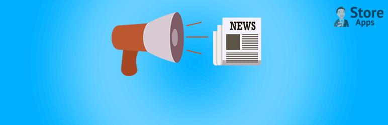 News Announcement Scroll
