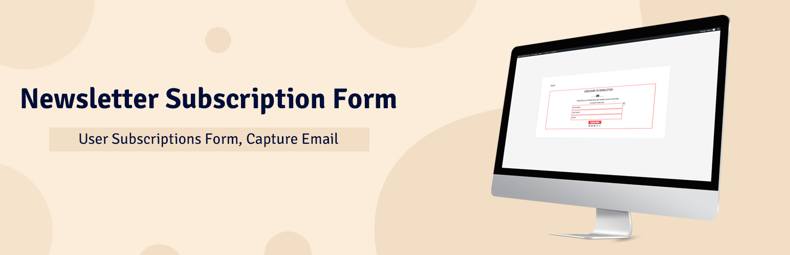 Newsletter subscription form user subscriptions form capture newsletter subscription form user subscriptions form capture email extensions del wordpress falaconquin