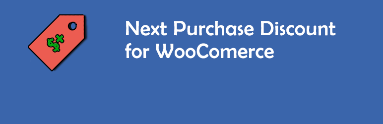 Next Purchase Discount for WooCommerce