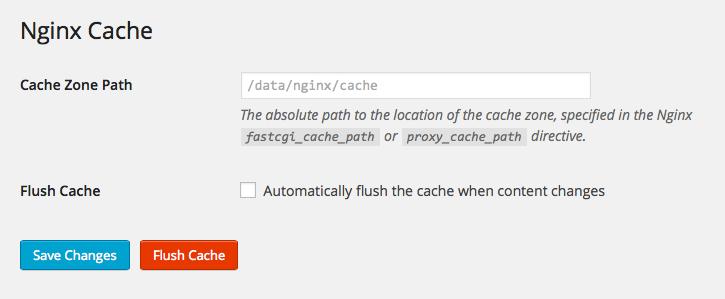 Nginx Cache – WordPress plugin | WordPress org