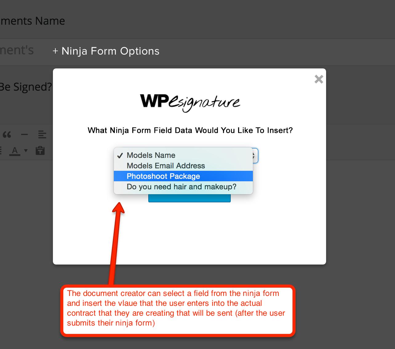 Ninja Forms Signature Contract Add-On – WordPress plugin