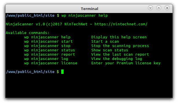 WP-CLI integration.