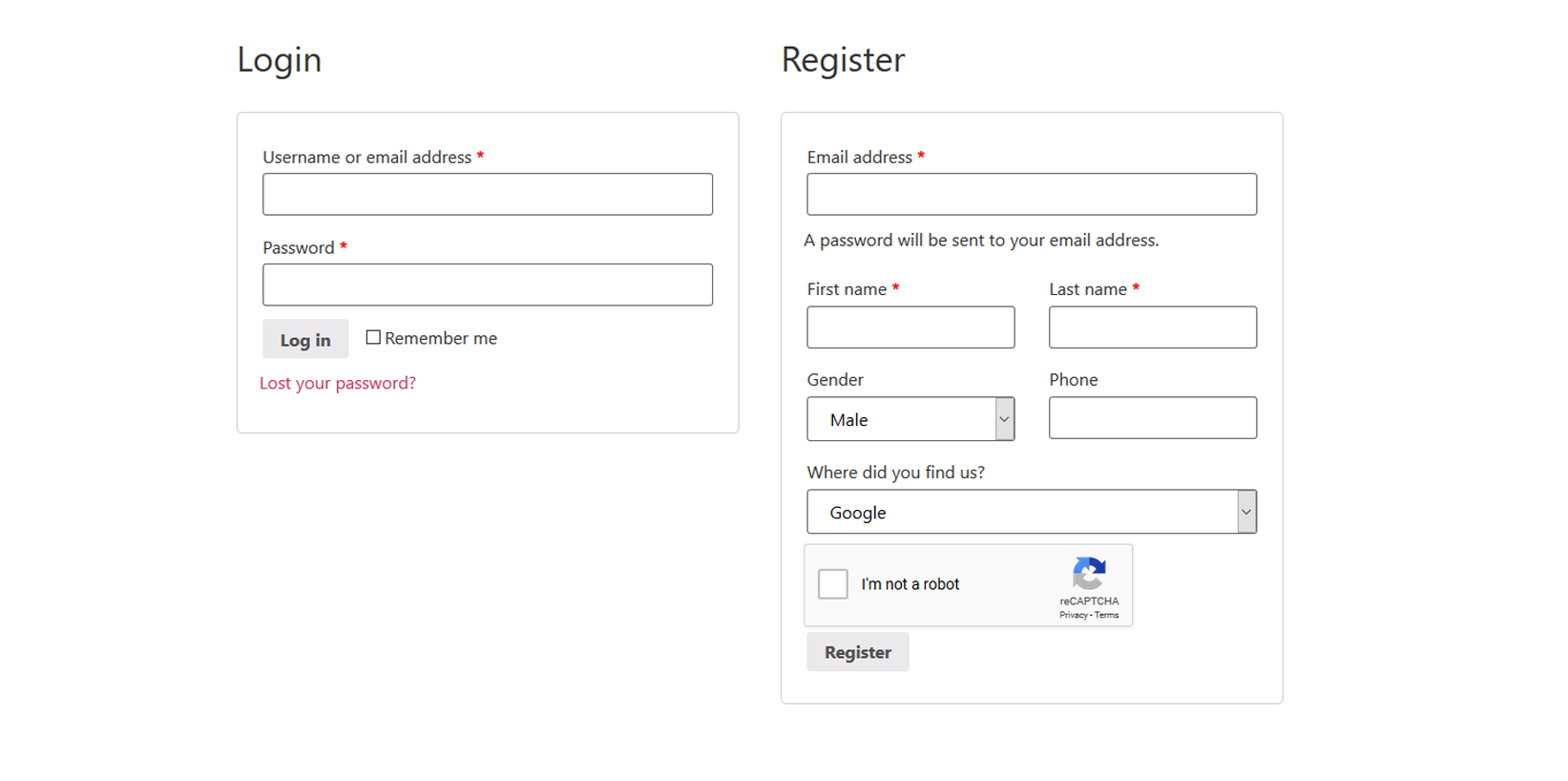 assets/screenshot-1.png this is a woocommerce registration page view.