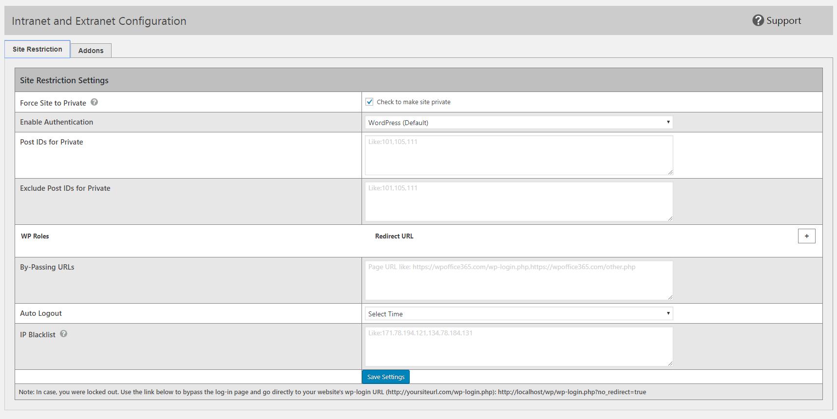 Intranet and Extranet with O365 Login – WordPress plugin