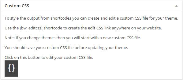 Custom CSS button