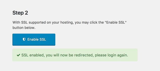 One Click SSL