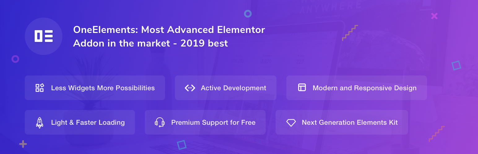 One Elements Addons For Elementor