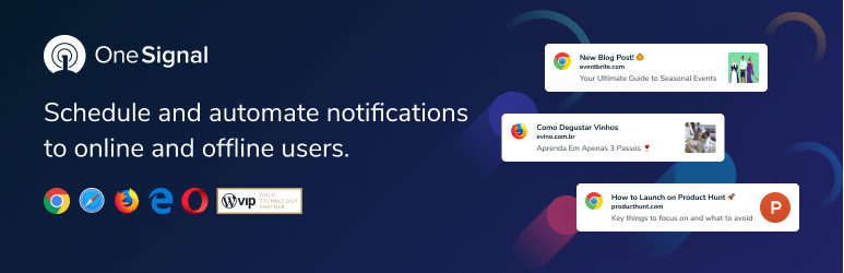 OneSignal — Free Web Push Notifications