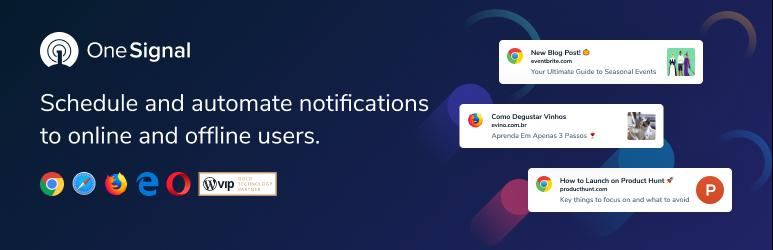 OneSignal — Бесплатные Web Push Уведомления.