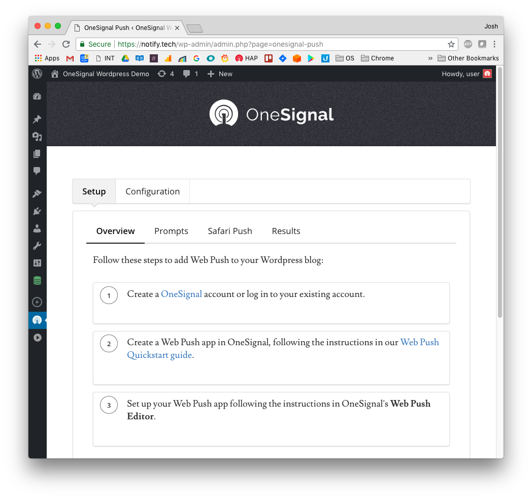 OneSignal – Web Push Notifications – WordPress plugin | WordPress org