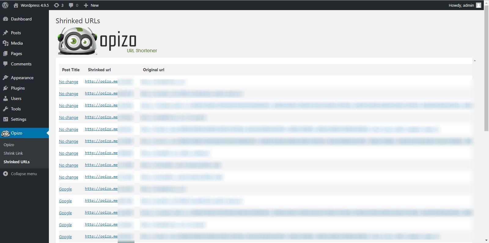 Opizo - WordPress.orgOpizo - 웹