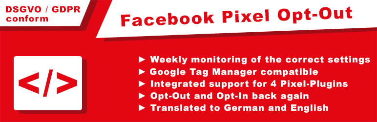Opt-Out Facebook Pixel (DSGVO / GDPR)