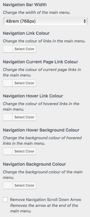 Nav Options
