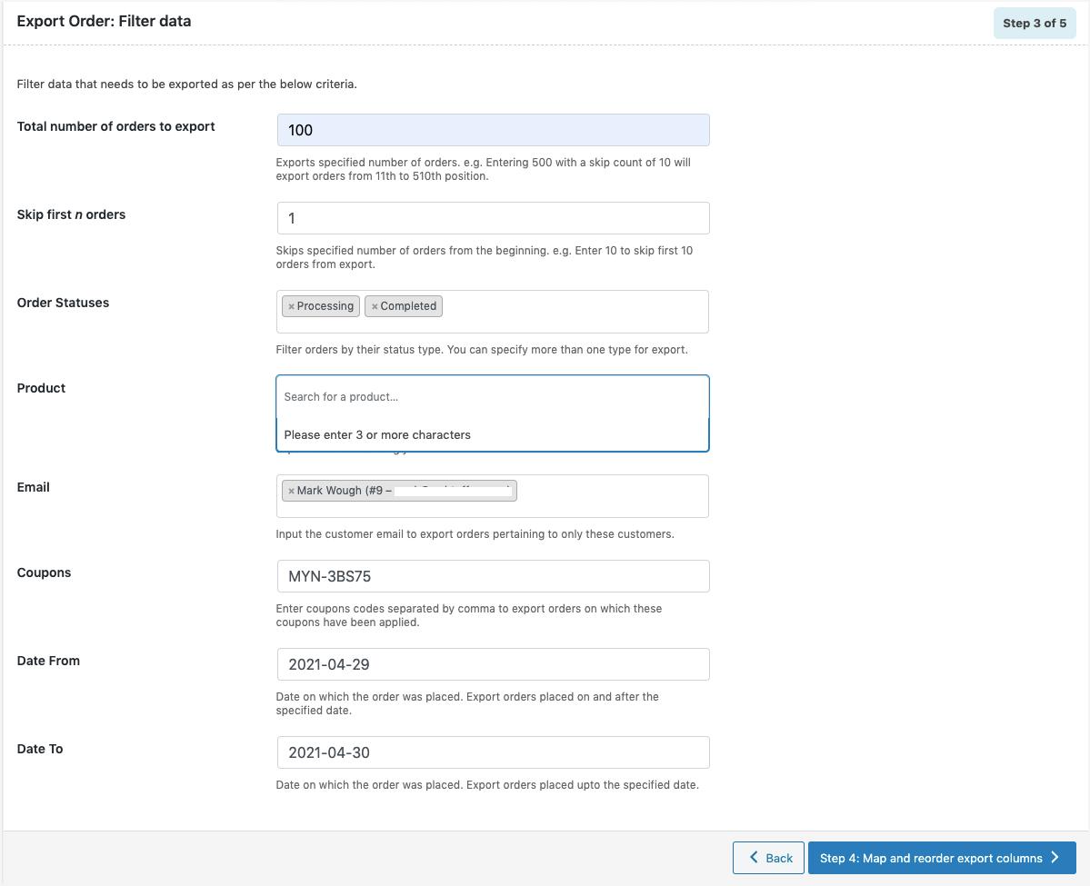 <p>Order Import / Order Export Screen</p>
