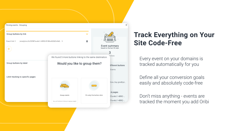 Track Everything on Your Site Code-Free.