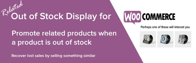 Out of stock display for woocommerce