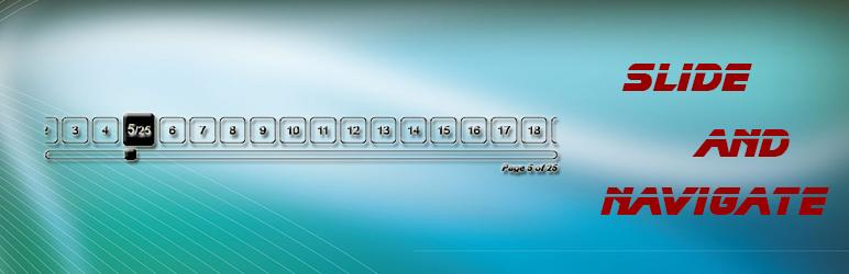 page navigation slider