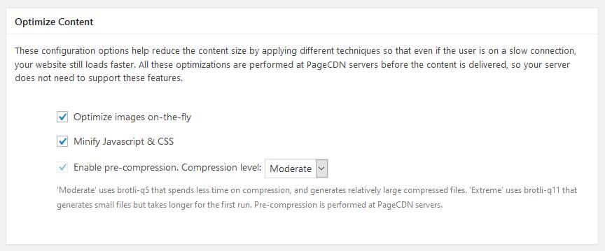 Premium CDN Configuration