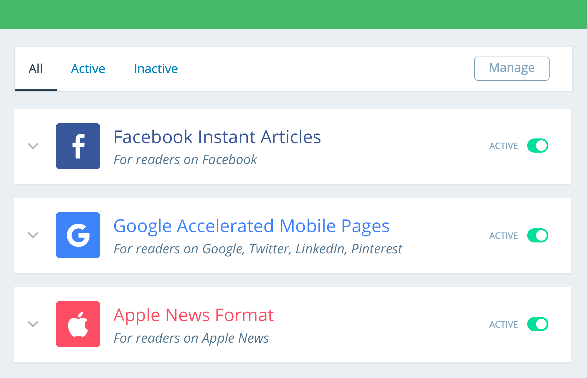 Facebook Instant Articles & Google AMP Pages by PageFrog Screenshot