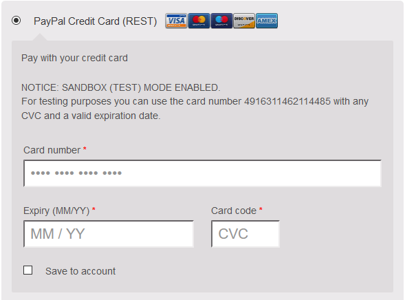 PayPal Payment for WooCommerce – WordPress plugin | WordPress org