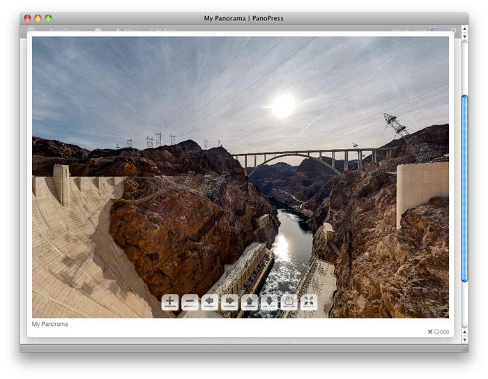 <strong>PanoBox</strong> - Display your Panorama in PanoBox lightbox clone
