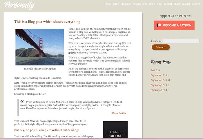 Patreon Button, Widgets and Plugin by CodeBard – WordPress plugin