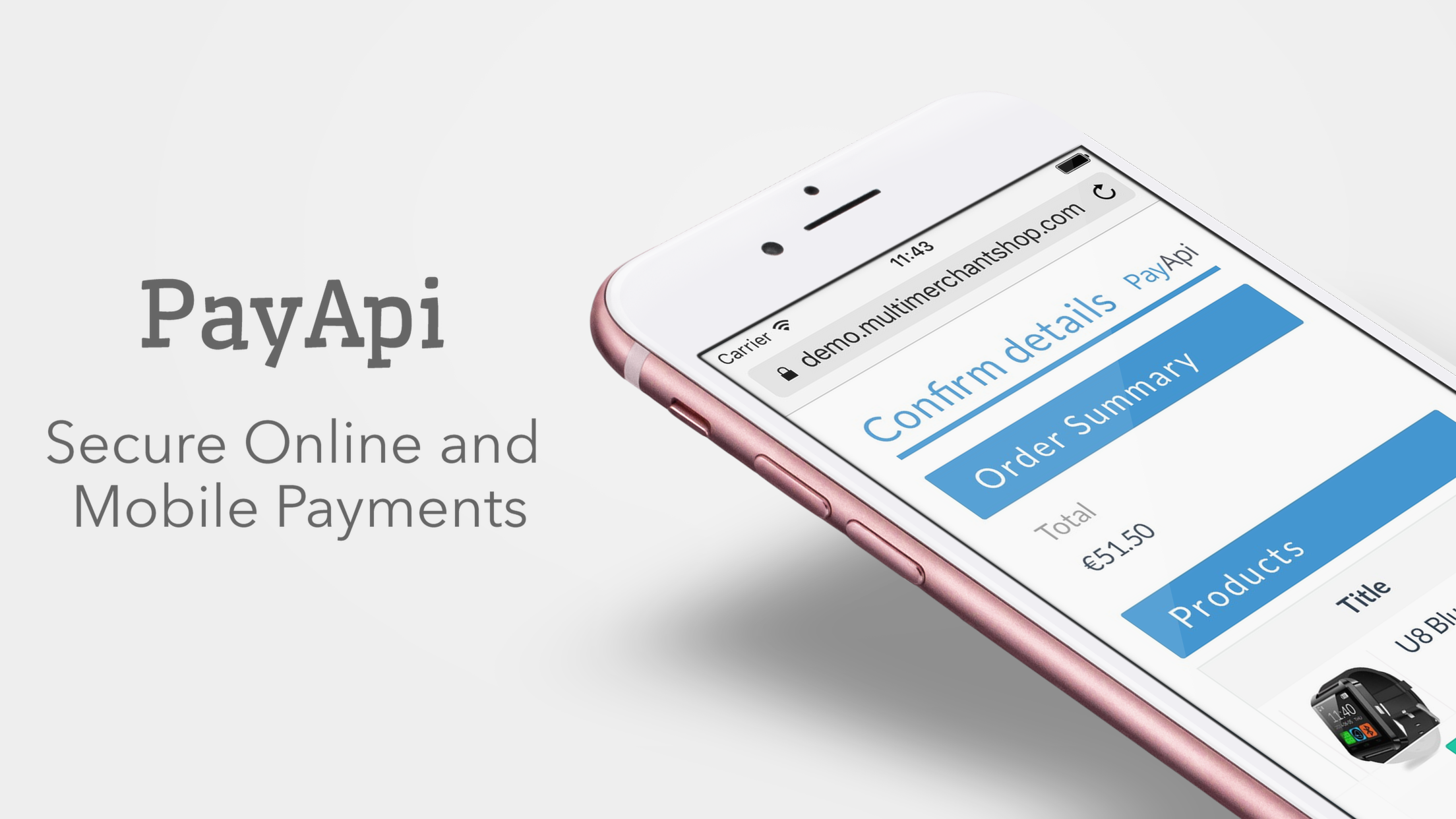PayApi Online & Mobile Payments