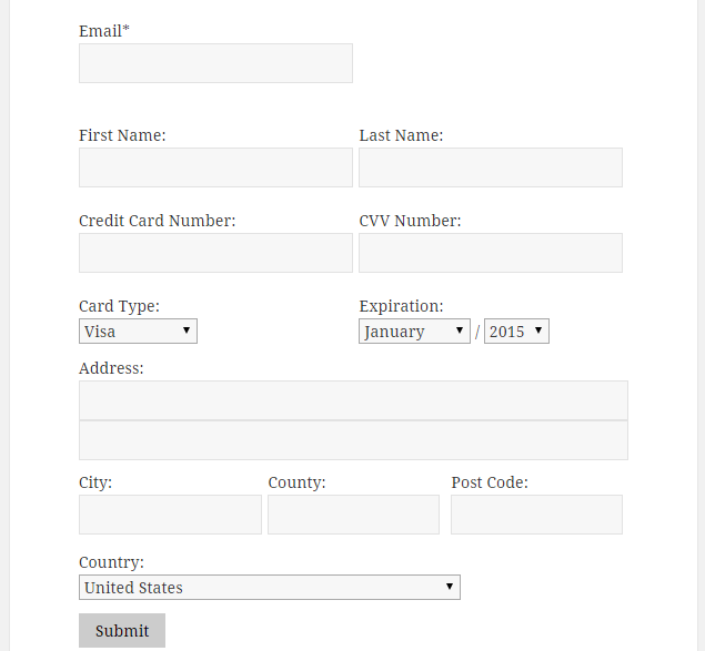 Payment Form For Paypal Pro Wordpress Org
