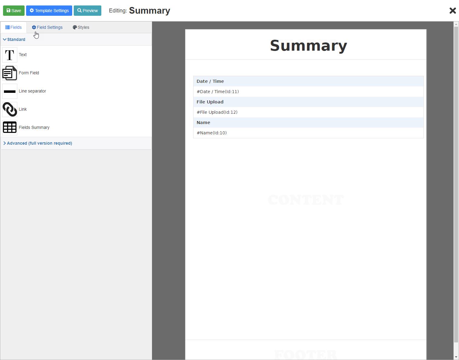PDF Builder for WPForms