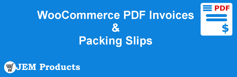 WooCommerce Invoices & Packing Slips Plugin