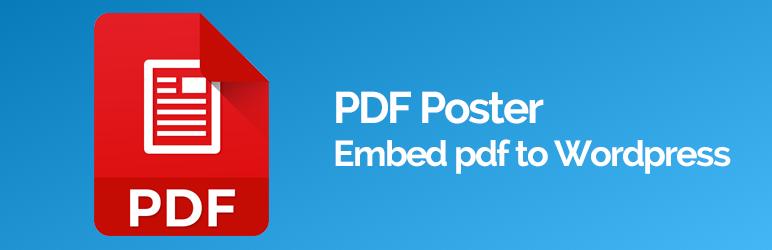 PDF Poster – Embed pdf file in WordPress -Pdf Viewer