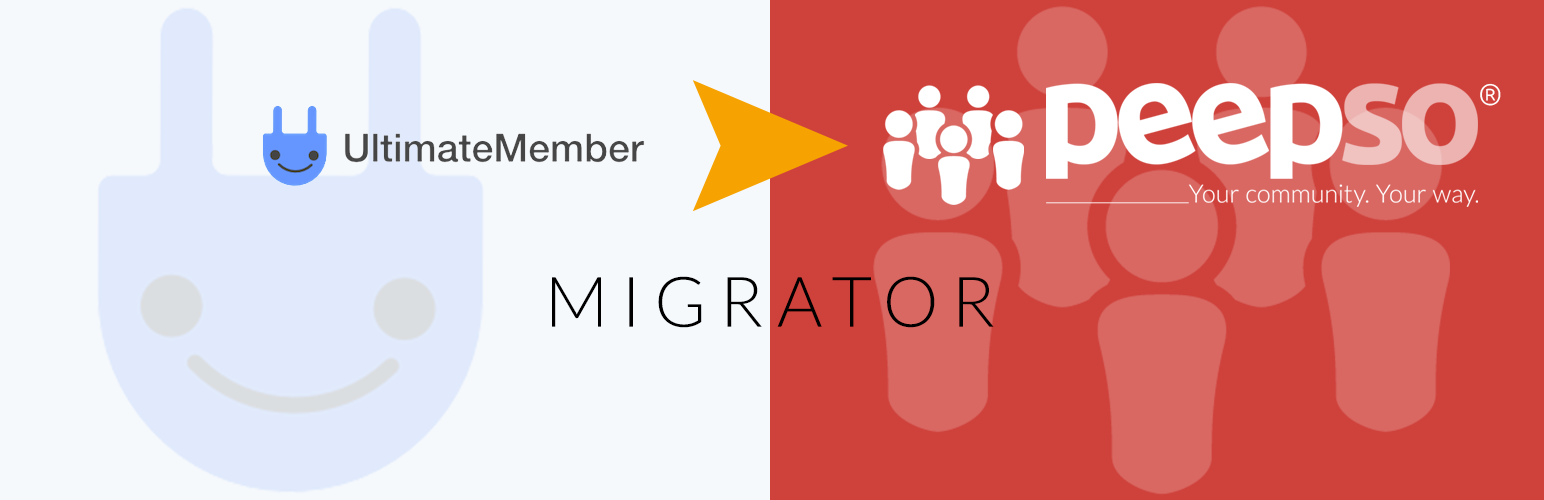 PeepSoTools: UltimateMember to PeepSo Migrator