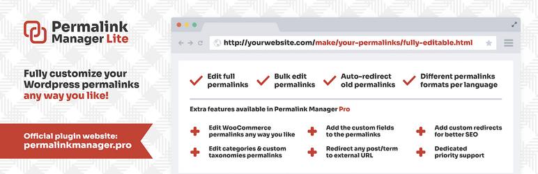 Permalink Manager Lite – WordPress plugin | WordPress.org