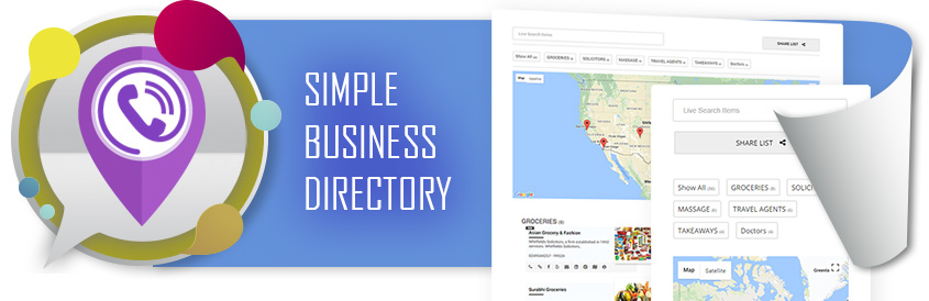 Business Directory With Google Maps