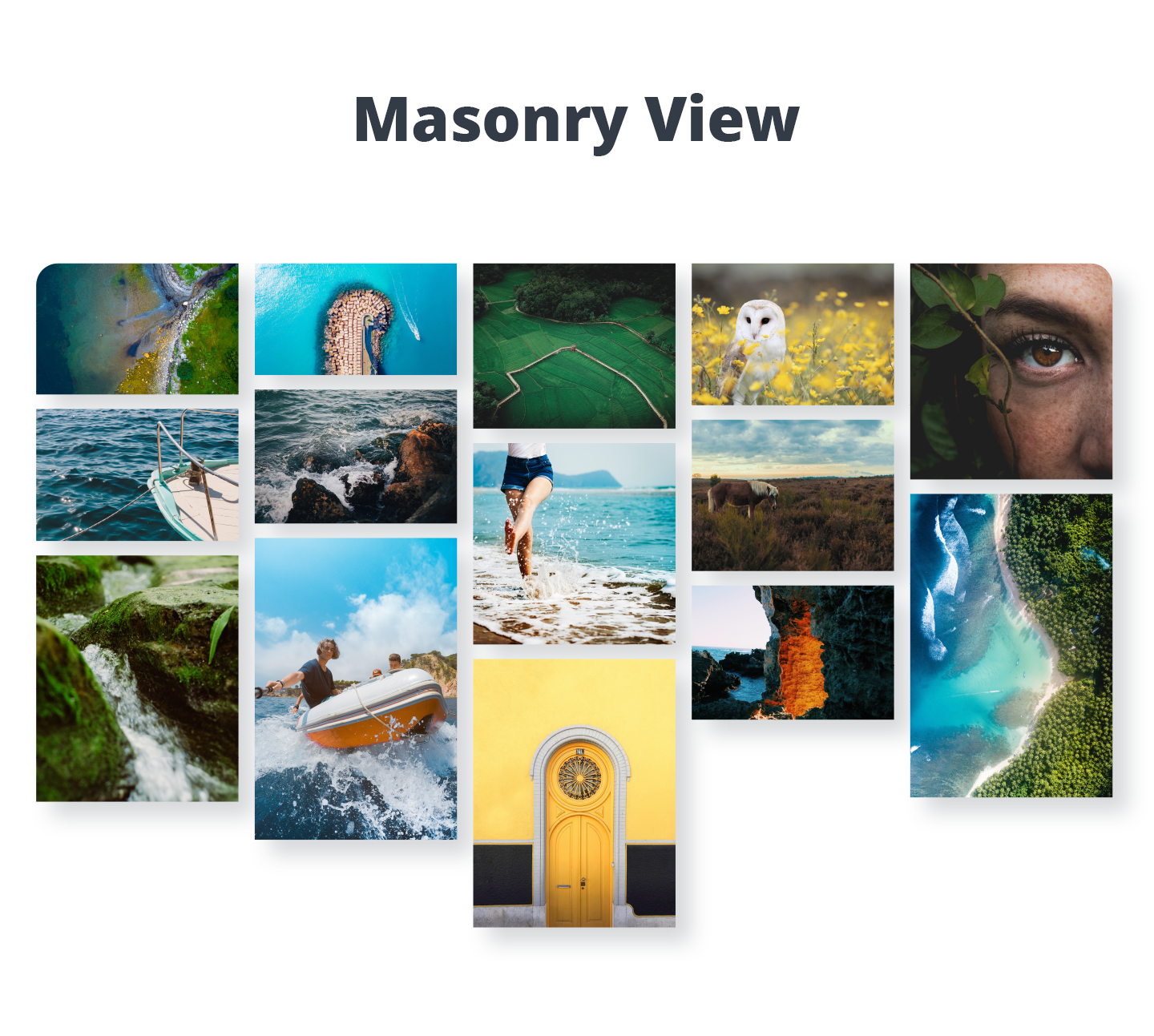 Photo Gallery - Masonry View (Premium version)