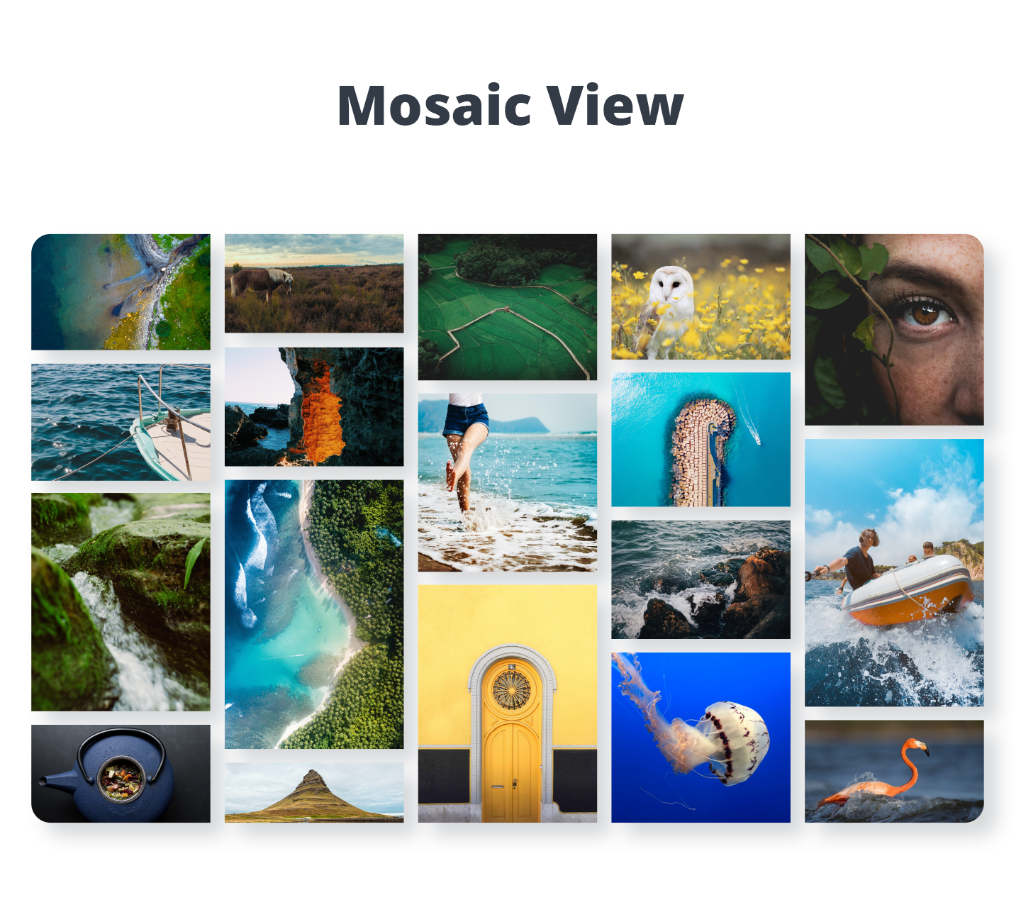 Photo Gallery - Mosaic View (Premium version)