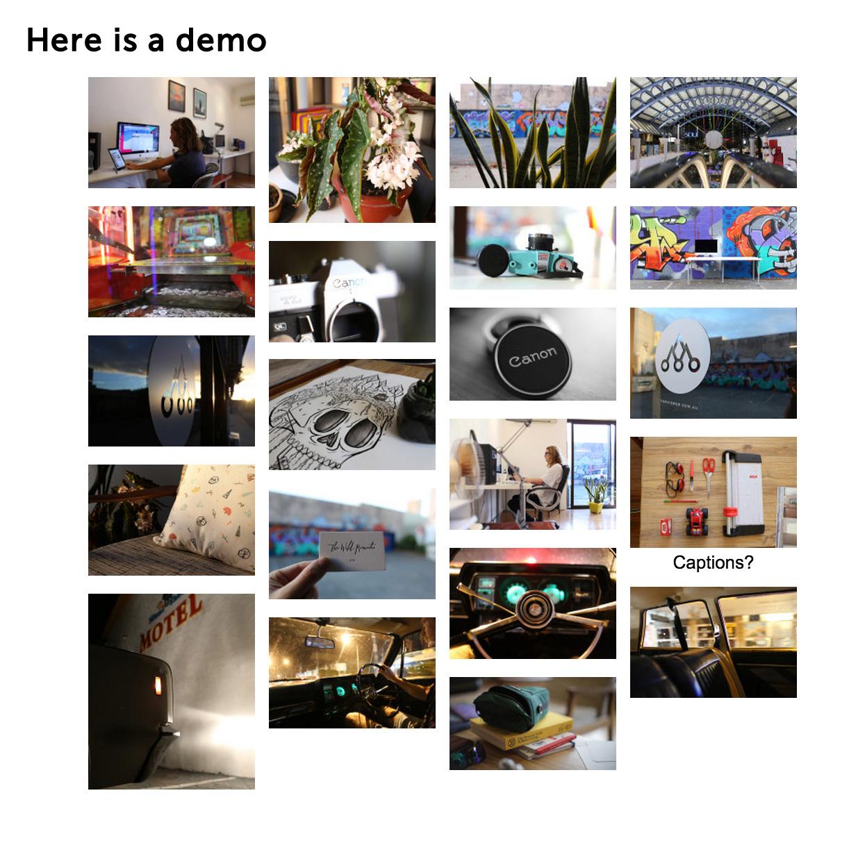 Photoswipe Masonry Gallery – WordPress plugin | WordPress org