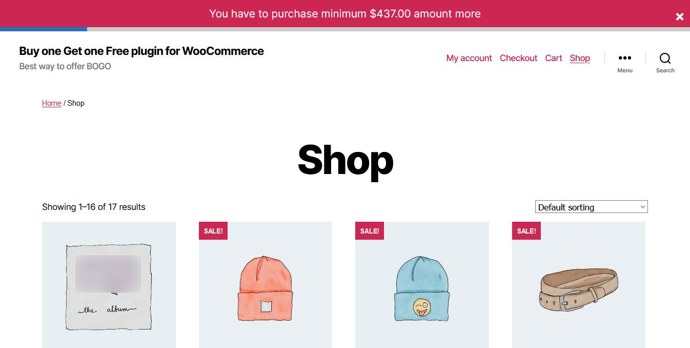 Product Quantity, Minimum Maximum quantity & Minimum Order quantity WooCommerce