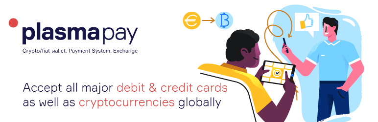 PlasmaPay.com Card Checkout and Crypto Payment Gateway for WooCommerce