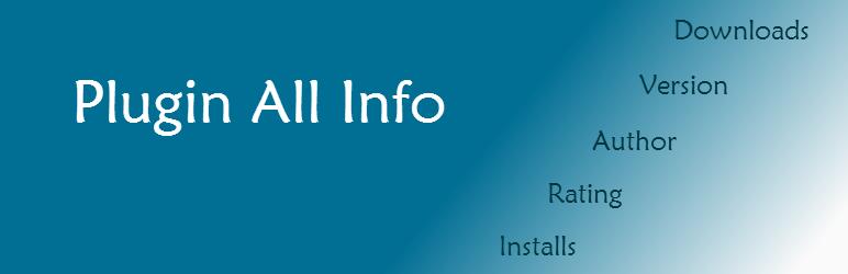 Plugin All Info