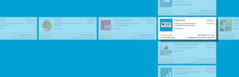 Plugin Cards