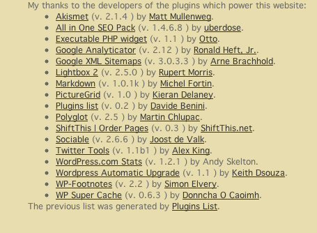 plugins-list screenshot 1