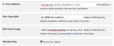 Two extra fields added to all RSS feeds.
