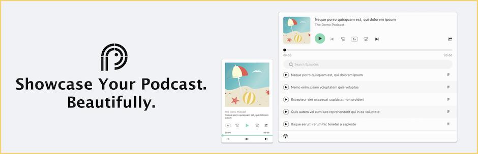 Podcast Player – WordPress plugin | WordPress org