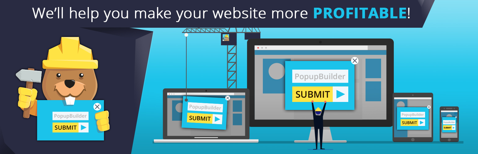 Popup Builder – Responsive WordPress Pop up – Subscription