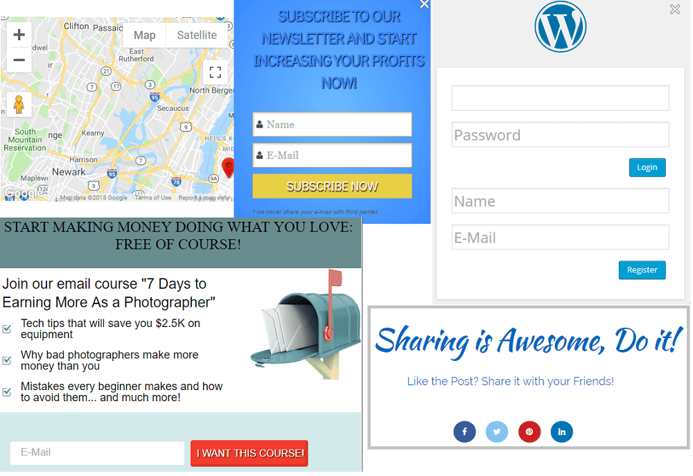 Popup By Supsystic WordPress Plugins - Us map overlay popup css