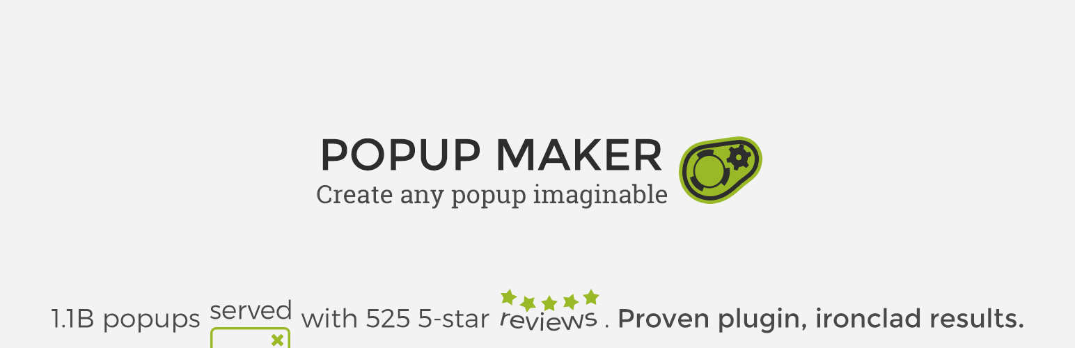 Popup Maker – Popup Forms, Optins & More – WordPress plugin