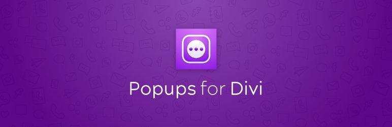Popups for Divi
