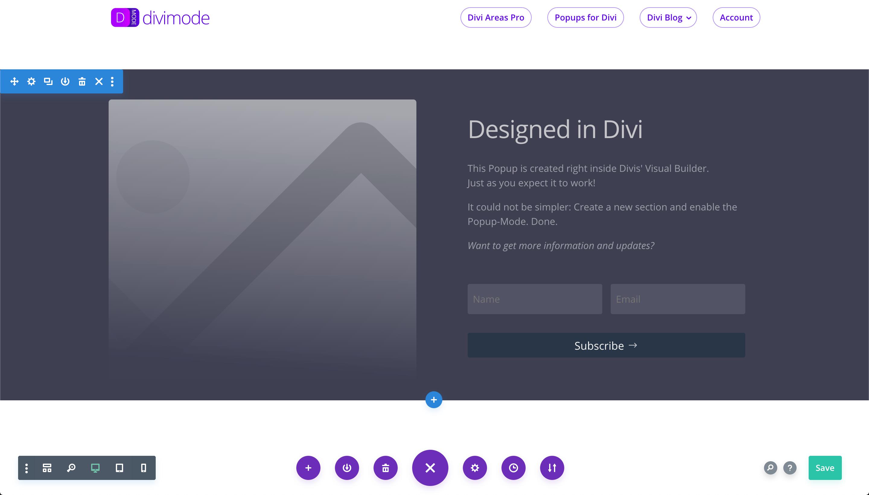 Popups for Divi – WordPress plugin | WordPress org