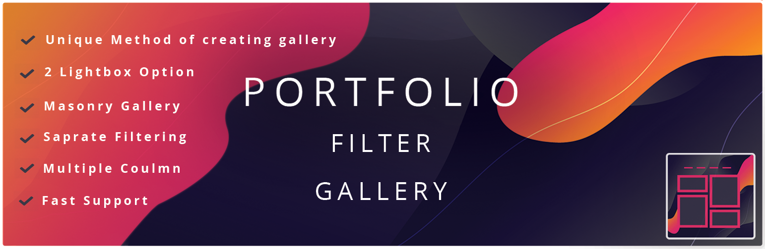 Portfolio Gallery – Image Gallery Plugin – WordPress plugin
